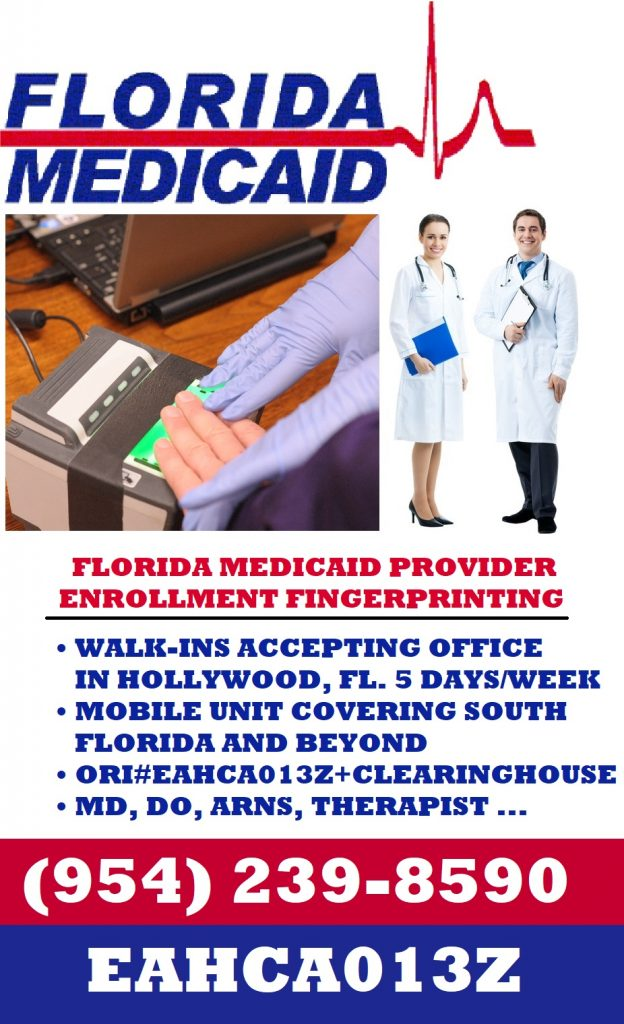 Florida Medicai Provide Enrollment Screening