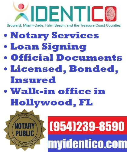 Notary in Hallandale